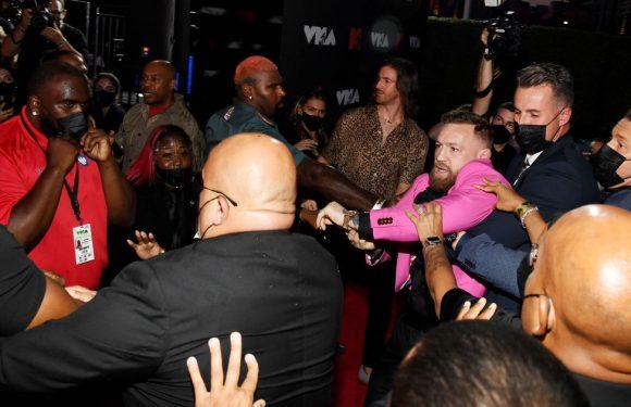 Conor McGregor says 'nothing happened' at VMAs despite Machine Gun Kelly clash