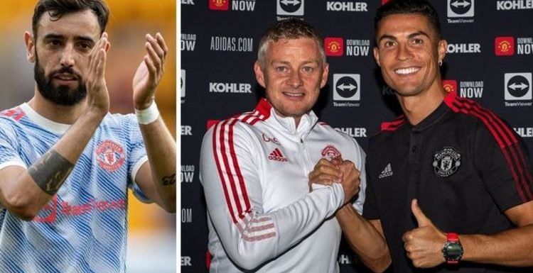 Cristiano Ronaldo and Bruno Fernandes penalty dilemma addressed by Man Utd boss Solskjaer