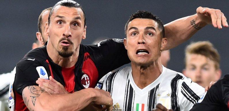 Cristiano Ronaldo faces big job to impress Zlatan Ibrahimovic back at Man Utd