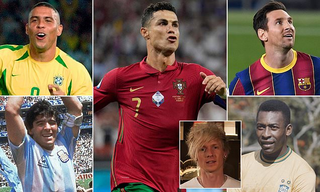 Cristiano Ronaldo revealed as football's GOAT ahead of Messi and Pele