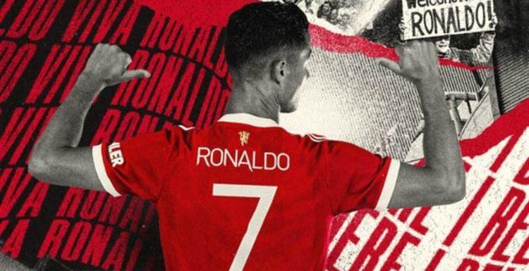 Cristiano Ronaldo smashes Man Utd's shirt sale record as extraordinary figures emerge