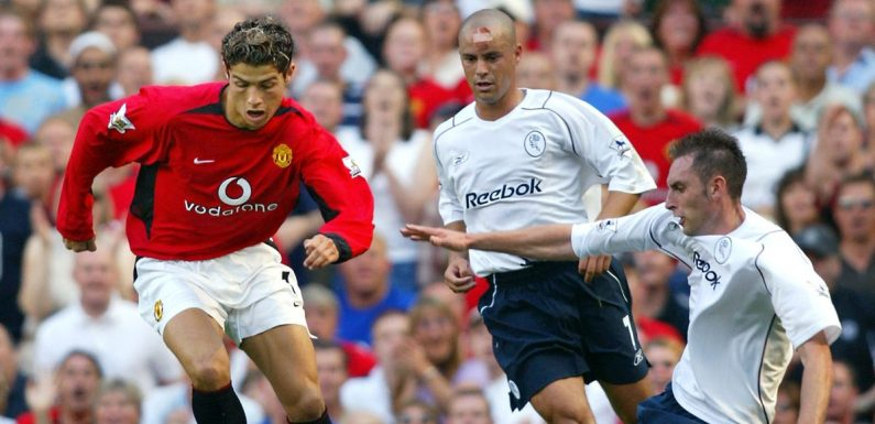 Cristiano Ronaldo's first Manchester United debut – told by those who were there