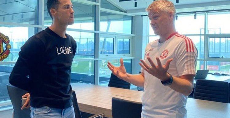 Cristiano Ronaldo's recommended signing to Man Utd boss Ole Gunnar Solskjaer