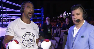 David Haye calls out Tyson Fury after beating Joe Fournier in comeback fight