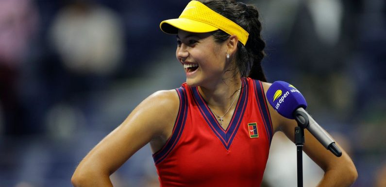 """Emma Raducanu insists """"there's no pressure"""" after making US Open final on debut"""