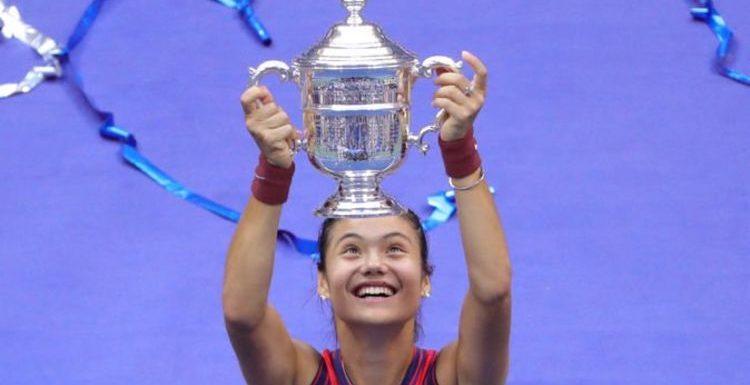 Emma Raducanu's celebratory message as US Open win finally sinks in