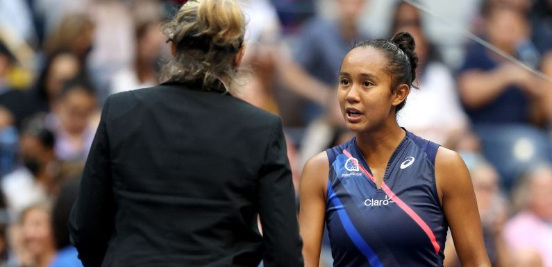 Emma Raducanu's defeated opponent Fernandez explains on-court row with official