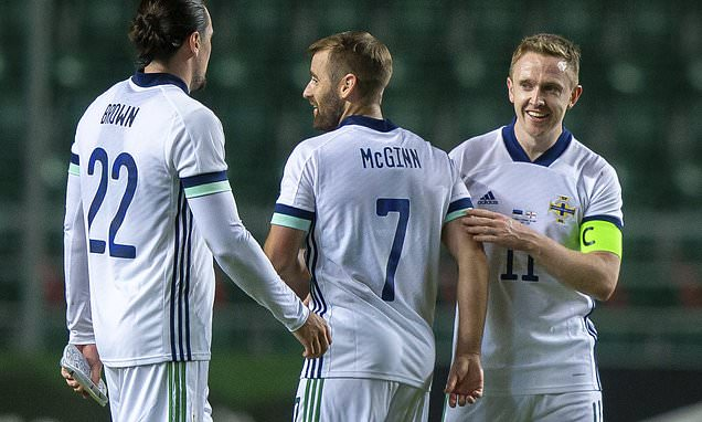 Estonia 0-1 Northern Ireland: Shane Ferguson thunderbolt secures win