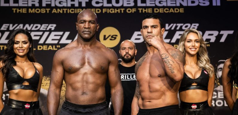 Evander Holyfield vs Vitor Belfort fight rules including judges and knockouts