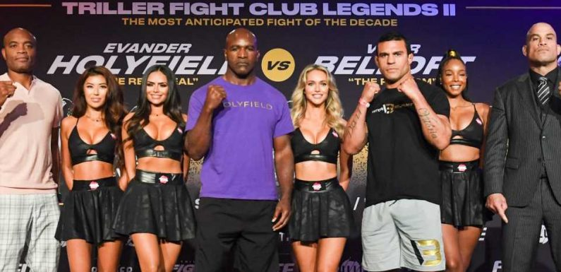 Evander Holyfield vs. Vitor Belfort, with Donald Trump alternate commentary: PPV price, how to watch