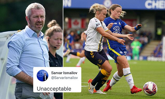 Everton Women's commercial director slams 'unacceptable' performance