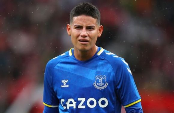 Everton flop James Rodriguez has 'secret clause' at new club to allow specific transfer