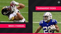 FanDuel Picks Week 2: NFL DFS lineup advice for daily fantasy football GPP tournaments