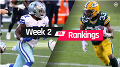 Fantasy RB Rankings Week 2: Who to start, sit at running back in fantasy football