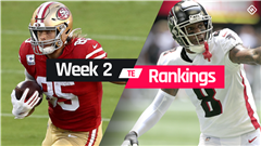 Fantasy TE Rankings Week 2: Who to start, sit at tight end in fantasy football