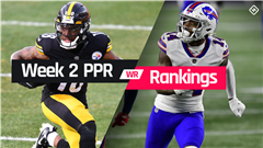 Fantasy WR PPR Rankings Week 2: Who to start, sit at wide receiver in fantasy football