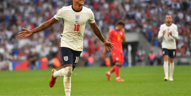 Football: Lingard double helps England ease past Andorra