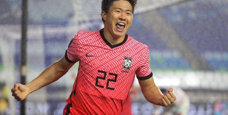 Football: South Korea bounce back with 1-0 Lebanon win