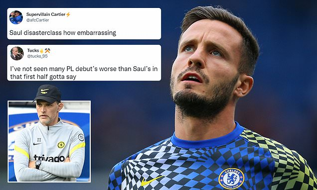 Football fans brand Saul Niguez's Chelsea debut as 'garbage'