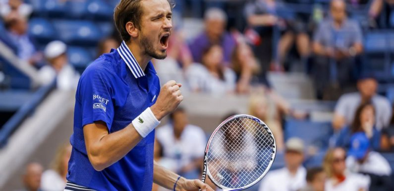 For Daniil Medvedev, nothing but a Slam title will do