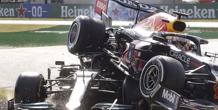 Formula One: Lewis Hamilton credits halo for saving his life in crash
