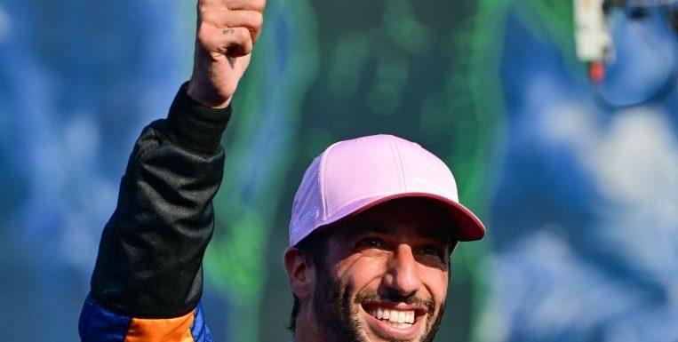 Formula One: Ricciardo dares to dream after securing Italian GP front row start