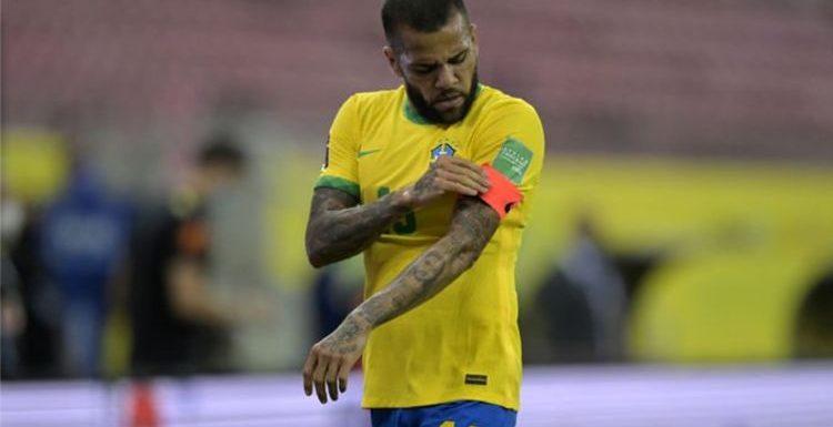 Four Premier League teams Dani Alves could join after Brazil legend becomes free agent