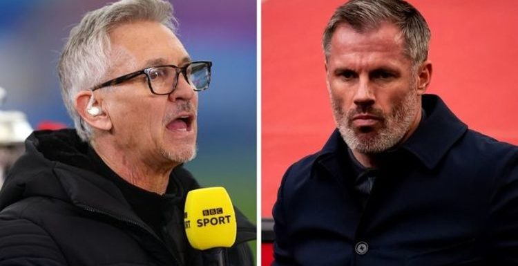 Gary Lineker and Jamie Carragher in row over Lionel Messi error – 'We don't have autocue'