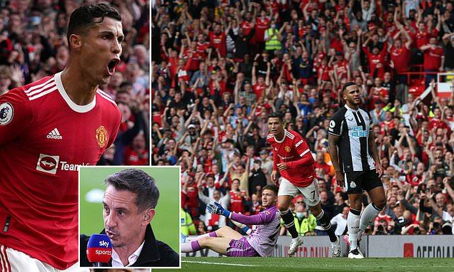 Gary Neville claims Ronaldo's Man United return has the city 'BUZZING'