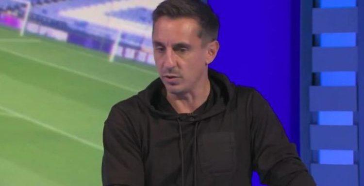 Gary Neville predicts Man Utd transfer activity with Ronaldo, Haaland claim