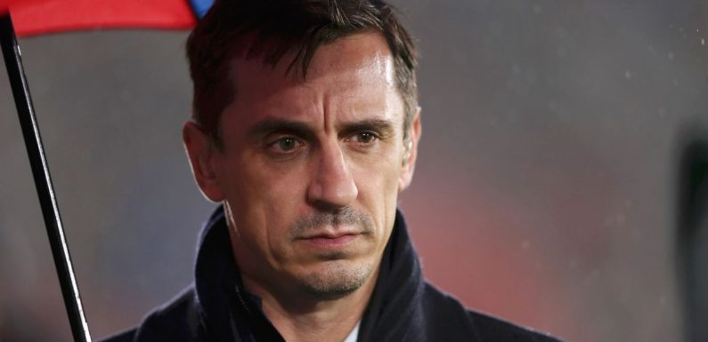 Gary Neville proves Ronaldo's stats have dropped off as his game has changed