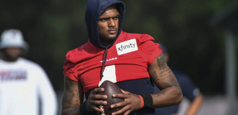 How the Deshaun Watson situation is playing out at Houston Texans practices