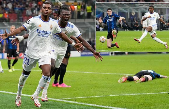 Inter 0-1 Real Madrid: Rodrygo Goes snatches late winner
