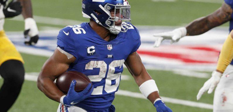 Is Saquon Barkley playing on Thursday night? Fantasy injury update for Giants-Washington Week 2 Thursday Night-Football