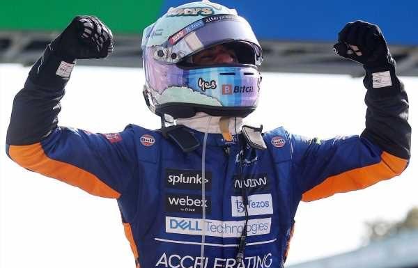 Italian Grand Prix result: Daniel Ricciardo wins at Monza after Lewis Hamilton and Max Verstappen crash out