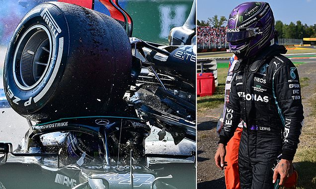 JONATHAN MCEVOY: Lewis Hamilton's life was saved by the halo device