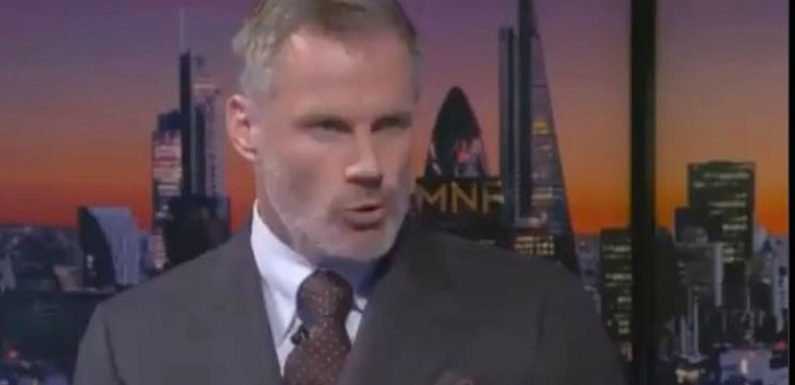 Jamie Carragher fires back at Gary Lineker with MOTD dig over criticism of MNF