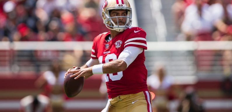 Jimmy Garoppolo confirms he's 49ers' starter, even if Kyle Shanahan won't say it