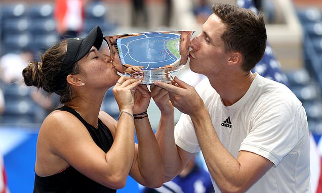 Joe Salisbury claims his second title at the US Open in mixed doubles