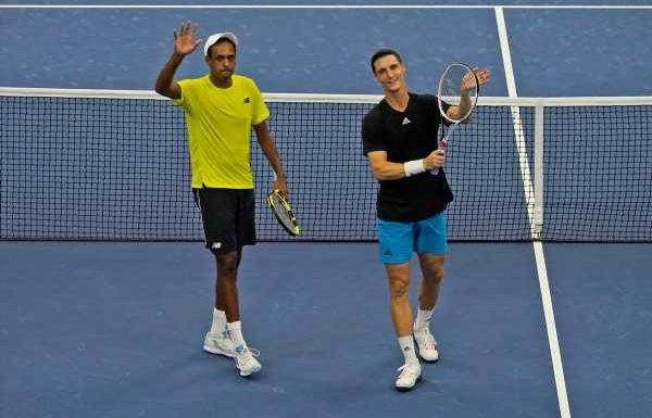 Joe Salisbury wins US Open men's doubles title at expense of Jamie Murray