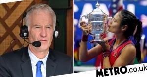 John McEnroe stands by controversial Emma Raducanu comments despite US Open win