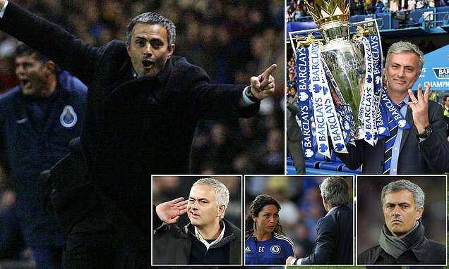 Jose Mourinho's highs and lows as he reaches 1,000 games in the dugout