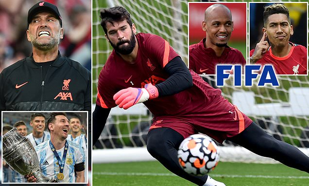 Klopp STILL doesn't know if he can play Alisson, Fabinho and Firmino