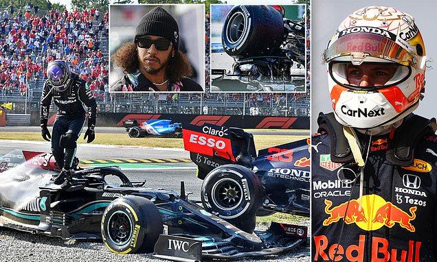 Lewis Hamilton blames Max Verstappen for horror crash