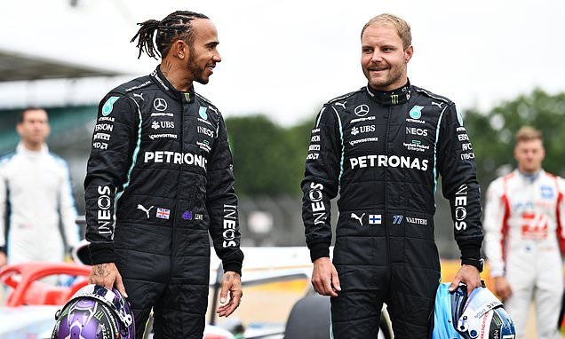 Lewis Hamilton names Valtteri Bottas as his 'best teammate'