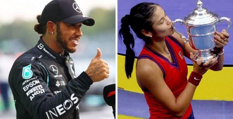 Lewis Hamilton vows to repeat Emma Raducanu heroics ahead of Italian Grand Prix