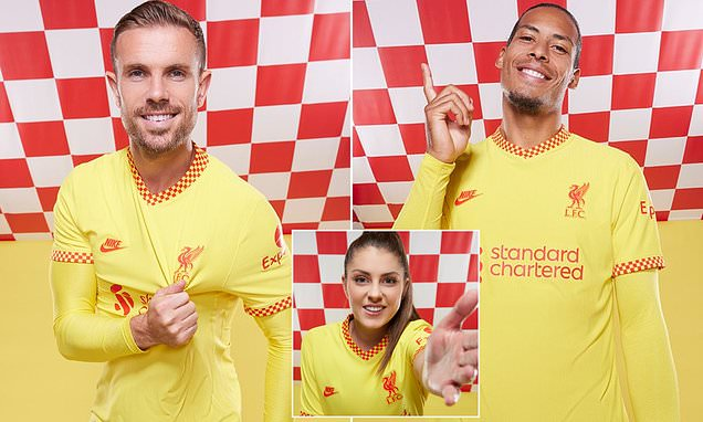 Liverpool unveil third and final kit for the 2021-22 season