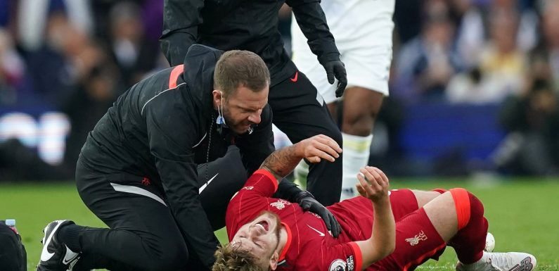 Liverpool's Harvey Elliott 'overwhelmed' by support after ankle injury