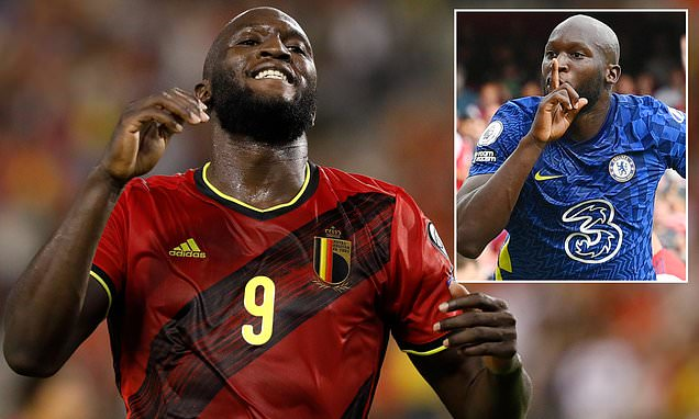 Lukaku will have a scan on his thigh before returning to Chelsea