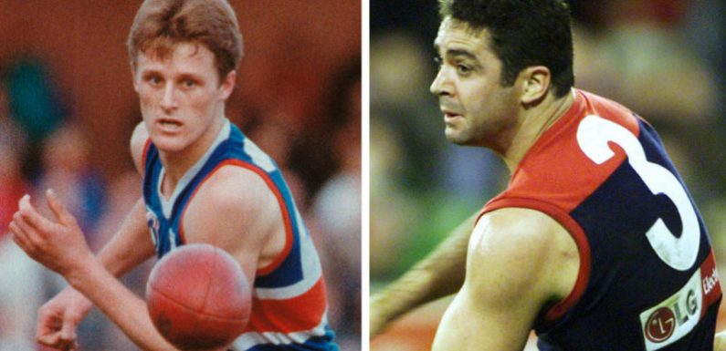 Lyon to present the cup should the Dees triumph, Grant if the Bulldogs prevail